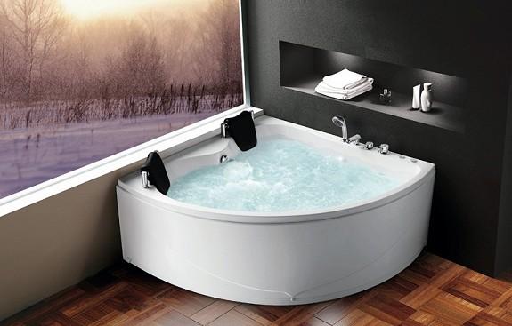 badekar massasje Badnor.no   Ana innvend. massasjebad (hjørne) 150x150cm badekar massasje