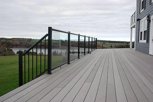 Vedlikeholdsfrie terrassebord