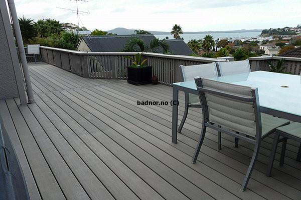 Vedlikeholdsfri terrassegulv