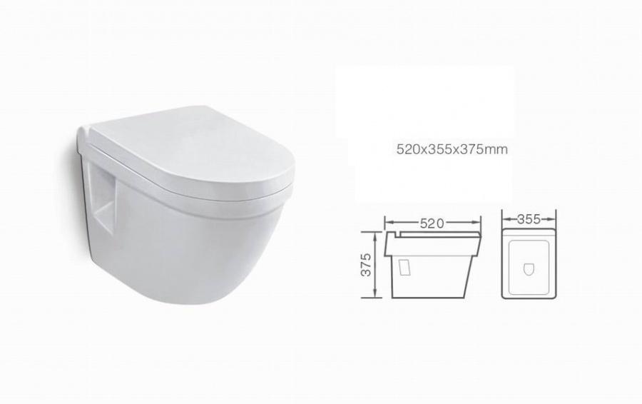Grohe vegghengt toalett