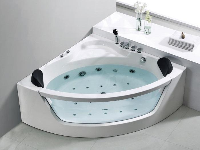 badekar massasje BADNOR.NO Luisa innvendig massasjebad(hjørne) 150x150cm   Badnor.no badekar massasje