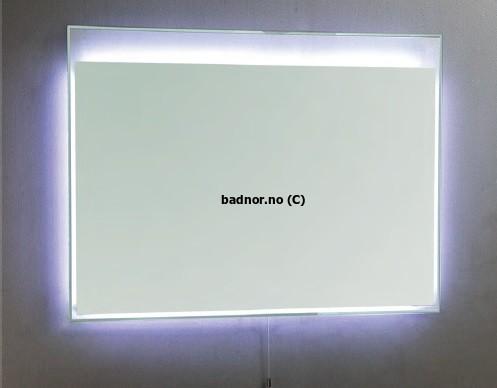 Baderomsspeil med belysning